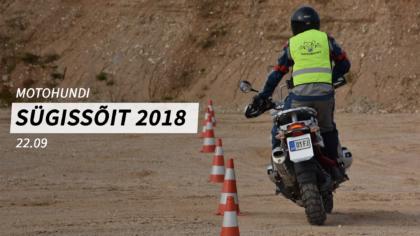 """Motohundi Sügissõit """"Põikav Hunt 2018"""""""